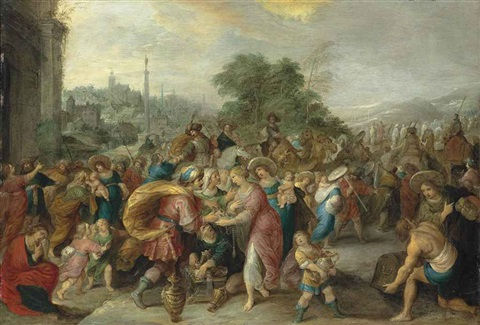 the exodus by frans francken the younger
