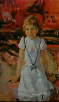 petite fille en blanc by vladimir filatov