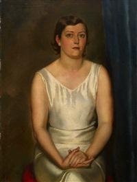female portrait by léonid frechkop