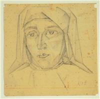 portrait of a woman by markov