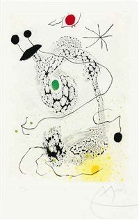 passacaille by joan miró