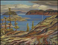 great bear lake near port radium by alexander young jackson