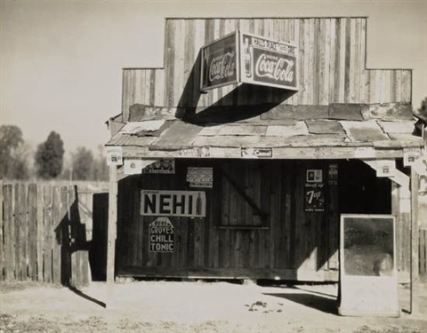 roadside store vicinity selma alabama by walker evans