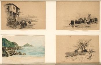 paisajes 4 works by tomas campuzano y aguirre