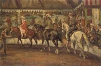 horseback riding by dirk johannes van haaren