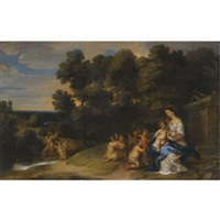the rest on the flight to egypt by peeter van avont
