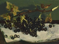raisin sur une table by lucien joseph fontanarosa