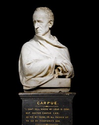 bust of joseph carpue by william behnes