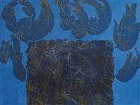 untitled (diptych) by sedaghat jabbari