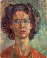 self portrait by irene hoffar reid