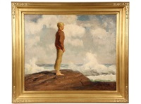b.t. (looking out to sea) by edmund f. ward
