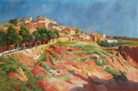 roussillon-en-provence by julien gustave gagliardini