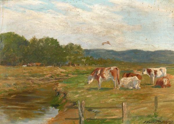 vaches à lherbage by adrien gabriel voisard margerie