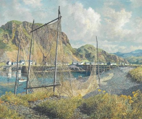 hot noon easdale near oban by james mcintosh patrick