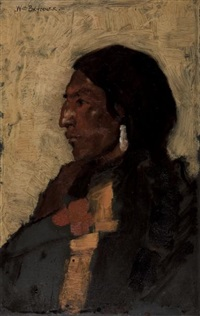 indian head by william brymner