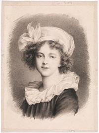 ritratto di elisabeth le brun by mauro gandolfi