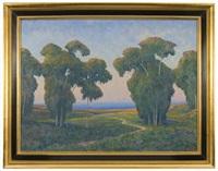 untitled (california landscape) by william dorsey