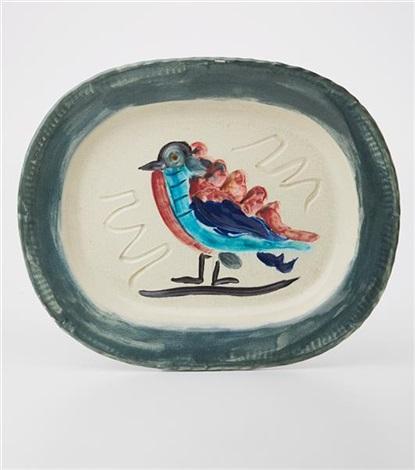 oiseau polychrome polychrome bird by pablo picasso