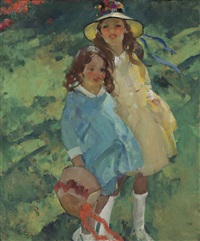 two girls by martha walter