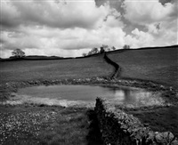 st. thomas a becket church, fairfield (from the romney marsh series) by fay godwin