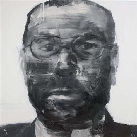 portrait dhomme by yan pei ming