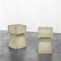 concrete tables (set of 2) by scott burton
