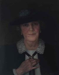 portrait of mrs. ernest sawyer by hannah gluckstein