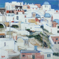 oia, grèce by ginette rapp