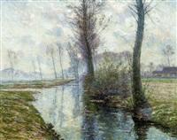 matinée de printemps by henry pieter edward rul