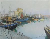 mevagissey by vernon ward