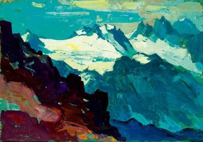 winterberg verhuffspitze gr litzner gr seehorn hochmaderer by konrad honold