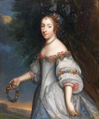 portrait de la grande mademoiselle by ferdinand elle