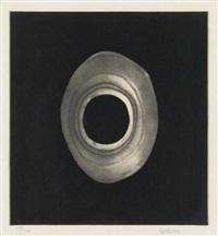 silkscreen (from ten from leo castelli) by lee bontecou