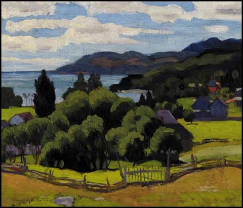 looking towards murray bay pq by randolph stanley hewton