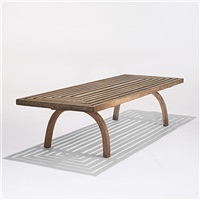 coffee table by edward durell stone