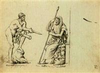 resa di un condottiero (+ 2 others; 3 works) by giuseppe sabatelli