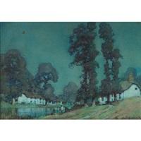 moonlight, devonshire by a. moulton foweraker