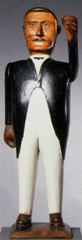 figure of a man in tuxedo by adelard cote