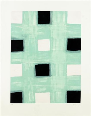 mint print by mary heilmann