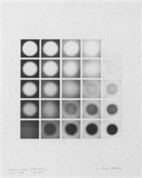 mechano optische untersuchung, serie 3.1969 by karl martin holzhäuser