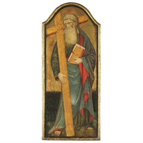 saint andrew by giambono di corrado da ragusa