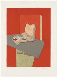 study of a human body after ingres by francis bacon