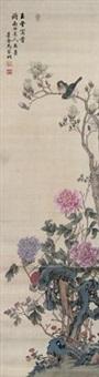 工笔花鸟 by ma jiatong