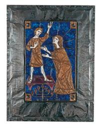 maria findet jesus im tempel by max spielmann