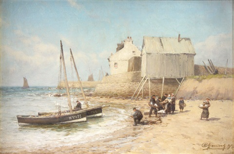 landing the catch in the east neuk by alexander young
