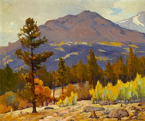 gray day meeker mountain by ferdinand kaufmann