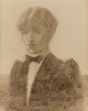 self portrait the art editor of the yellow book by aubrey vincent beardsley