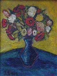 blumen in einer vase by judith anna exter