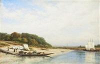 river sura by aleksei petrovich bogolyubov