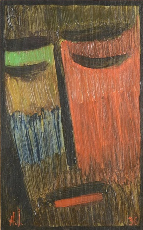 meditation by alexej jawlensky